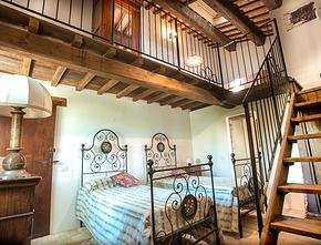 Farmhouse Le borette at Sarnano - Schito Calcina (Macerata) - Marche